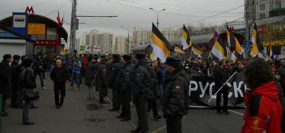 Русский марш-2011 в Москве