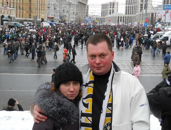 дядя Вова: Митинг оппозиции на ак.Сахарова в Москве 24 декабря 2011г.