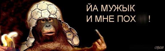 ОВЕН: Я мужик и мне пох!