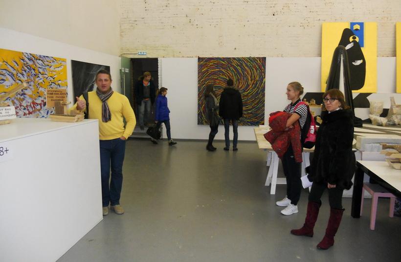 Винзавод, выставка современного искусства, дядя Вова