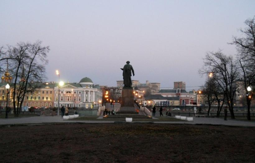 РЕПА: памятник Ильи Репина