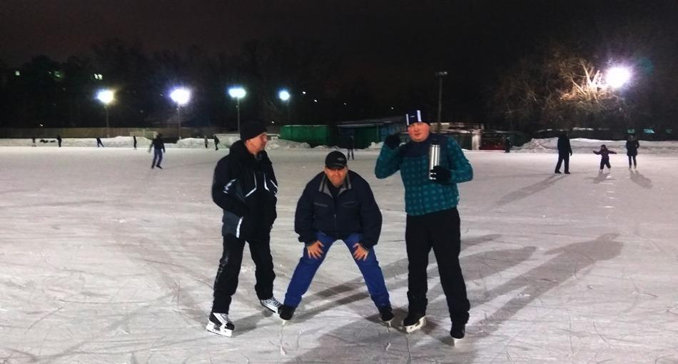 дядя Вова, стадион Искра Ботанический сад, конькобежный спорт, катки Москвы