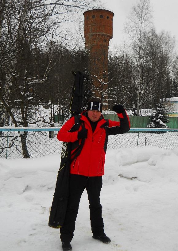 дядя Вова, лыжный спорт, Софрино-2, Мурановская лыжня